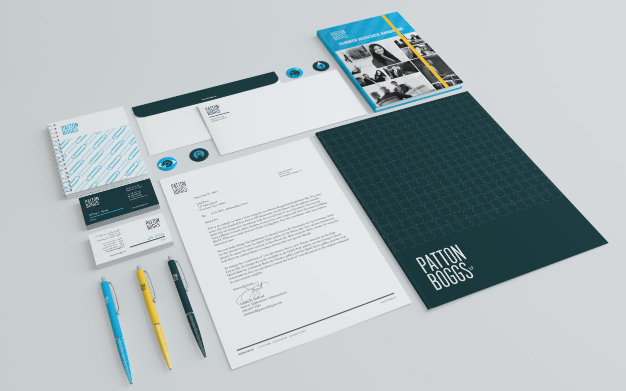 Patton Boggs Branding